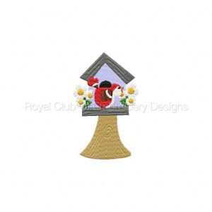 Royal Club Of Embroidery Designs - Machine Embroidery Patterns Some Birdies Home Set