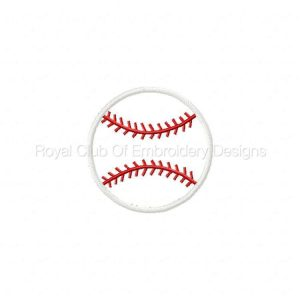 Royal Club Of Embroidery Designs - Machine Embroidery Patterns Spring Baseball Fun Set