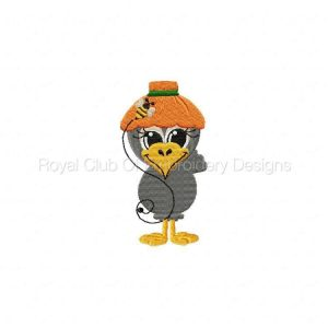 Royal Club Of Embroidery Designs - Machine Embroidery Patterns Spring Crows Set