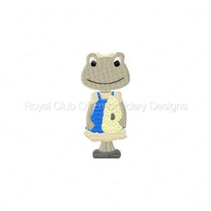 Royal Club Of Embroidery Designs - Machine Embroidery Patterns Spring Frogs Set