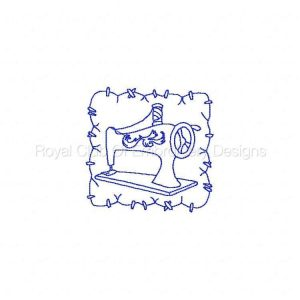 Royal Club Of Embroidery Designs - Machine Embroidery Patterns Spring Sewing Blocks Set