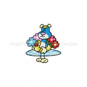 Royal Club Of Embroidery Designs - Machine Embroidery Patterns Stick Teddy Set