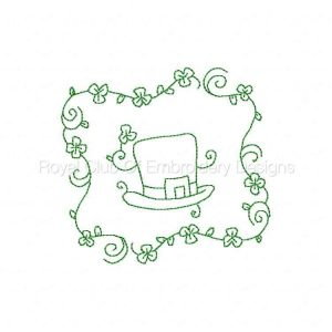 Royal Club Of Embroidery Designs - Machine Embroidery Patterns Saint Patricks Day Quilt Blocks Set
