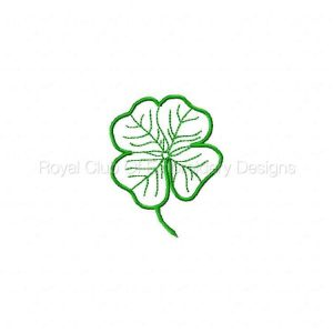 Royal Club Of Embroidery Designs - Machine Embroidery Patterns St Patricks 2 Set