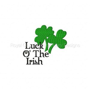 Royal Club Of Embroidery Designs - Machine Embroidery Patterns St Pats Day Set