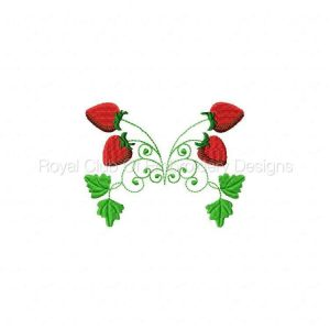 Royal Club Of Embroidery Designs - Machine Embroidery Patterns Strawberries Set