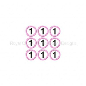 Royal Club Of Embroidery Designs - Machine Embroidery Patterns Sudoku In The Hoop Game Set Set