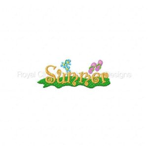 Royal Club Of Embroidery Designs - Machine Embroidery Patterns Summer Fun Set
