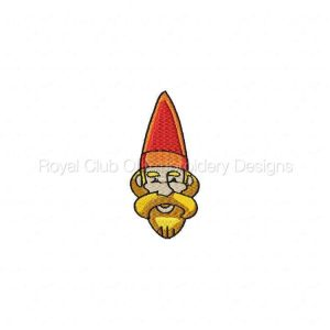 Royal Club Of Embroidery Designs - Machine Embroidery Patterns Swappable Gnomes Set