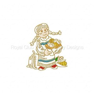 Royal Club Of Embroidery Designs - Machine Embroidery Patterns Thanksgiving PF Set