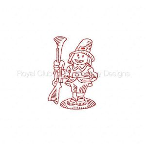 Royal Club Of Embroidery Designs - Machine Embroidery Patterns Thanksgiving RW Set