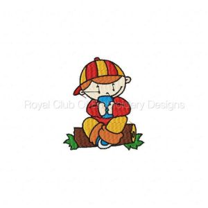 Royal Club Of Embroidery Designs - Machine Embroidery Patterns Tommy Boy Set