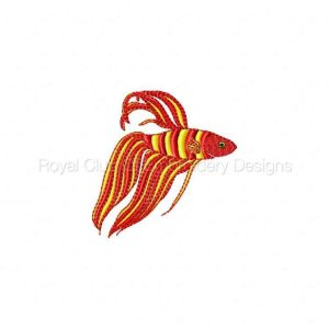 Royal Club Of Embroidery Designs - Machine Embroidery Patterns Tropical Fish Set