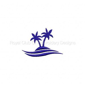 Royal Club Of Embroidery Designs - Machine Embroidery Patterns Tropical Paradise Set