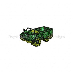Royal Club Of Embroidery Designs - Machine Embroidery Patterns Trucks Set