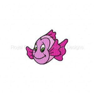 Royal Club Of Embroidery Designs - Machine Embroidery Patterns Under the Sea Set