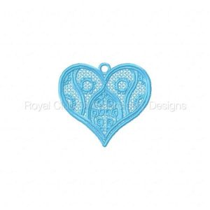 Royal Club Of Embroidery Designs - Machine Embroidery Patterns Valentine Hearts Variety Pack Set