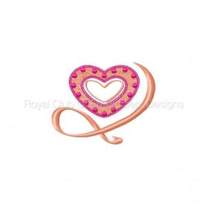 Royal Club Of Embroidery Designs - Machine Embroidery Patterns Valentines For You Set