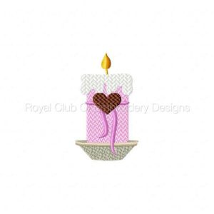 Royal Club Of Embroidery Designs - Machine Embroidery Patterns Valentine Treats 2 Set