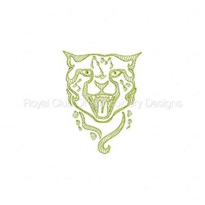 Royal Club Of Embroidery Designs - Machine Embroidery Patterns Wild Things Set