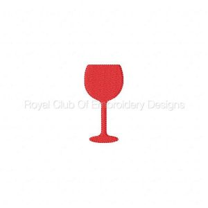Royal Club Of Embroidery Designs - Machine Embroidery Patterns Wine Time Set