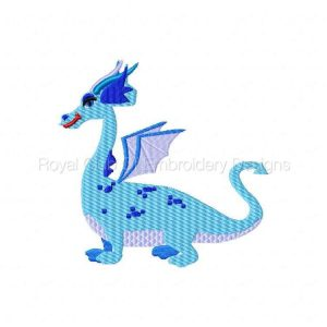 Royal Club Of Embroidery Designs - Machine Embroidery Patterns Winged Dragons Set