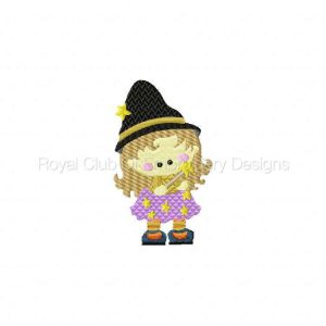 Royal Club Of Embroidery Designs - Machine Embroidery Patterns Witch Hilda Set