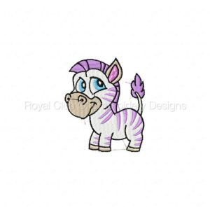 Royal Club Of Embroidery Designs - Machine Embroidery Patterns Zoo Set
