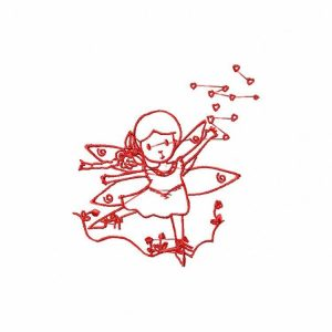 Royal Club Of Embroidery Designs - Machine Embroidery Patterns Delicate Fairies Set