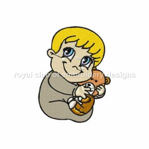 Royal Club Of Embroidery Designs - Machine Embroidery Patterns Babies Set