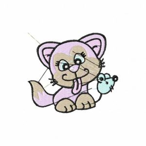 Royal Club Of Embroidery Designs - Machine Embroidery Patterns Kitties Set