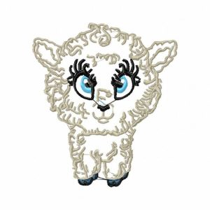 Royal Club Of Embroidery Designs - Machine Embroidery Patterns Cute Sheep Set